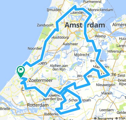 Netherlands bike trip August-September 2016