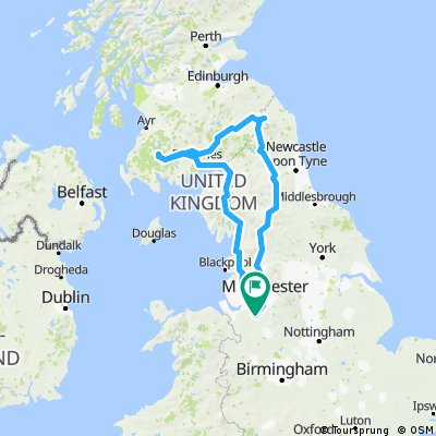 Holiday route