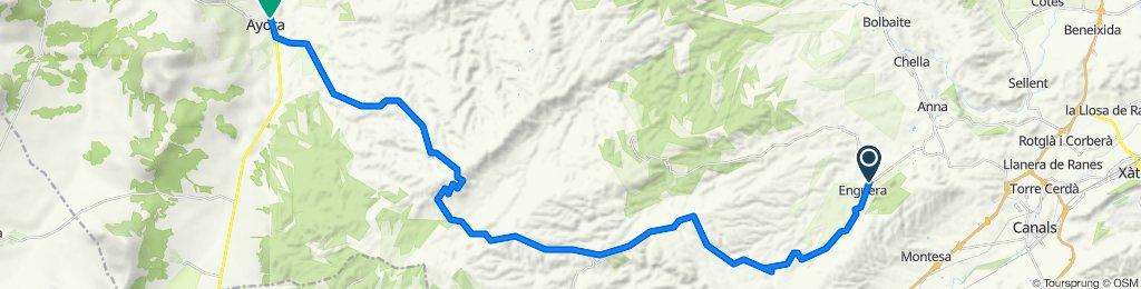 Ruta 05: 'Sierra de Enguera'  Enguera-Ayora