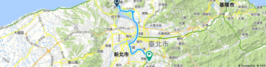 ride from Pingzaiding to Wunshan District
