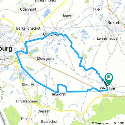 7-10-2016 (vr) Rondje Tilburg (z)