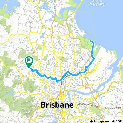 Lengthy bike tour through Grovely