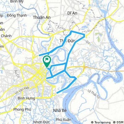 VNM HCMC-Pham Van Dong/Mai Chi Tho/Phu My Bridge
