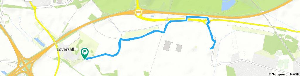 Short bike tour through Doncaster