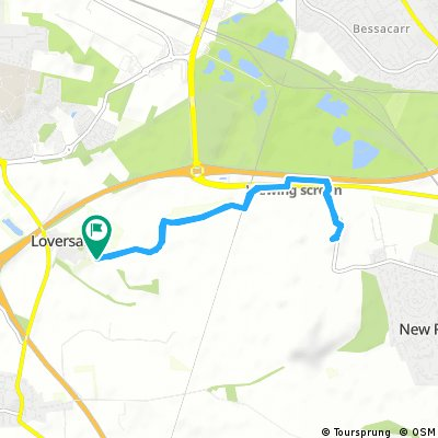 Short bike tour through Doncaster