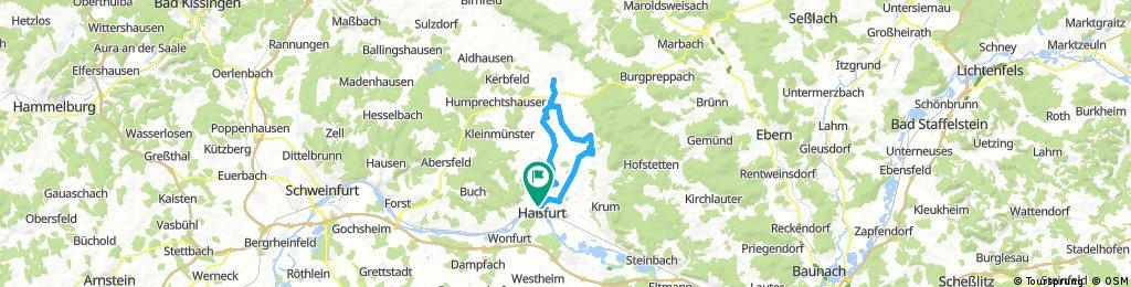 161008 eisenbahntrasse von haßfurt