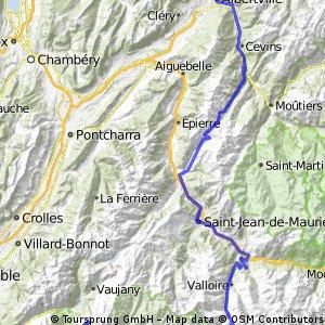 2013-17: Ugine > L´Alpe-d´Huez (190 km)