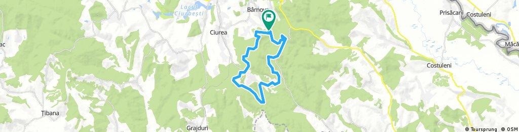 bike tour from Pastviny to Pietrăria