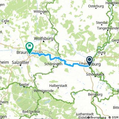 Braunschweig -  Magdeburg
