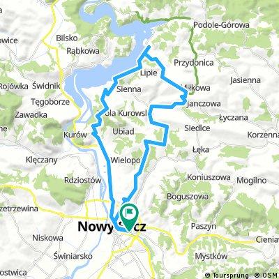 Nowy Sącz - J.Rożnowskie - Nowy Sącz