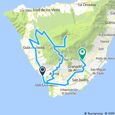 Tenerife: Tide Roundtrip from Adeje (BH)
