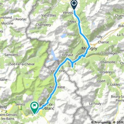 2. Etappe Oberdiessbach Le Lavandou