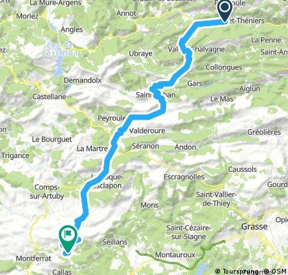 10. Etappe Oberdiessbach Le Lavandou