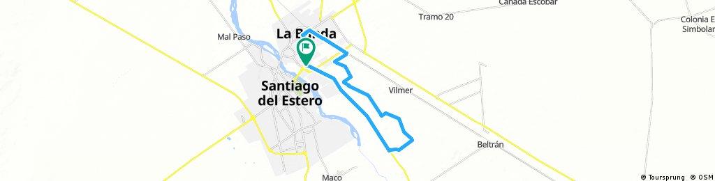 Lengthy ride through Los Arias