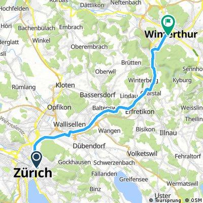 Zuruch -- Winterthur