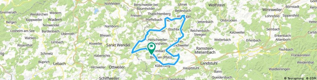 Elschbach Nanzditschweiler Börsborn Steinbach Altenglan Konken Werschweiler