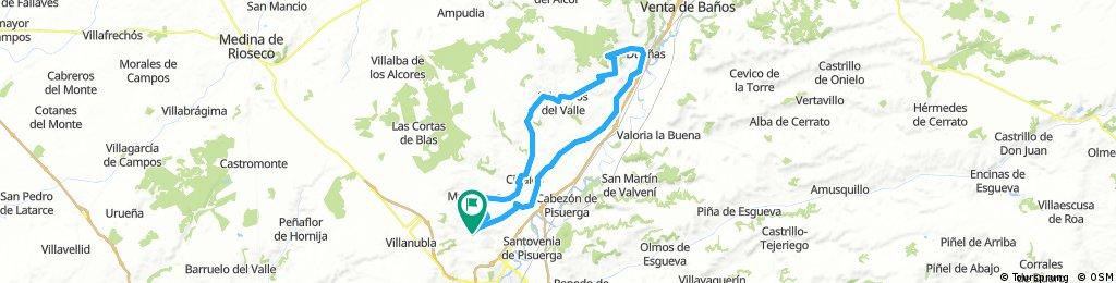 ruta larga fuensaldaña