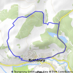 Cycling routes and bike maps in and around Rothbury Bikemap