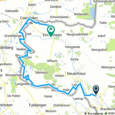 B.6 Grenzroute Nordhorn - Emlichheim