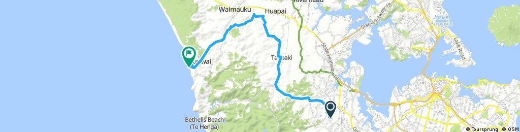 Henderson to Muriwai
