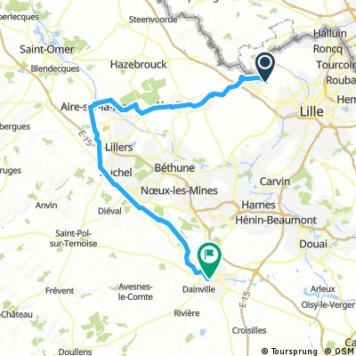 2014 Vlissingen - Maastricht dag 4 naar Arras