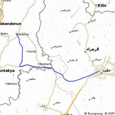 Adana - Aleppo 4. Tag