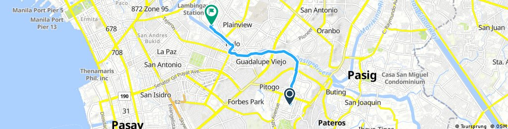Brief bike tour from Fort Bonifacio to Mandaluyong
