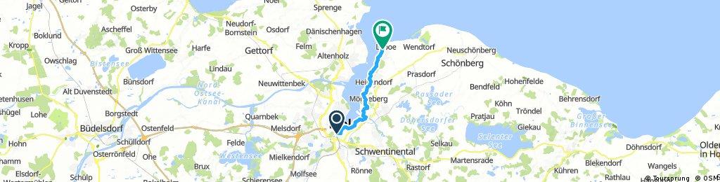 Radrunde von Kiel nach Laboe