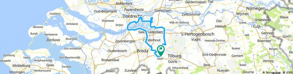 Rondje Biesbosch vanaf Gilze