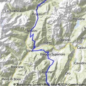 Madonna di Campiglio -- Riva del Garda 5 Etappe Transalp