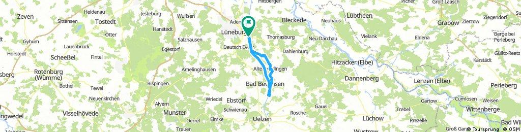 Elbe-Seitenkanal b. Lüneburg -> Bad Bevensen -> Lüneburg