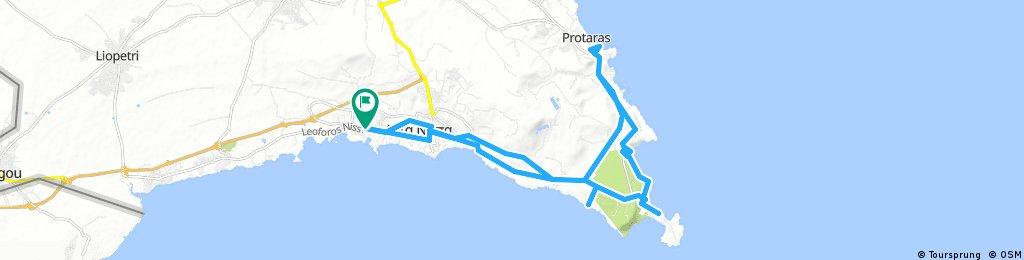 Ayia Napa - short bike ride