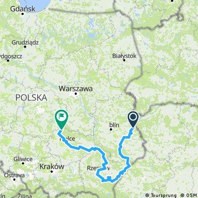 טיול חברים מזרח פולין
