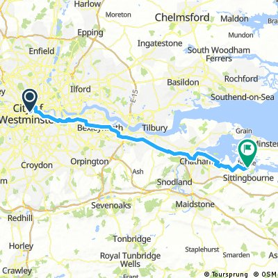 London to Sittingbourne