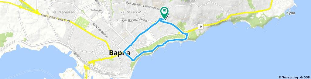 Brief ride through Varna Municipality
