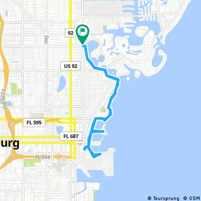 ride through Saint Petersburg