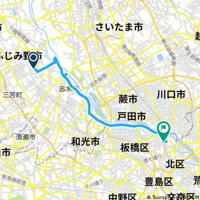 ララポート富士見 to JR赤羽駅