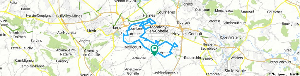la drocourtoise vtt (52kms/41kms/36kms/20kms)