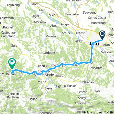 2016 Ride Day 172 - Pau to Barcus