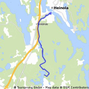 Cycling routes and bike maps in and around Heinola Bikemap Your