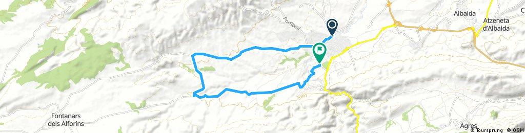 Vuelta corta (test 20km)