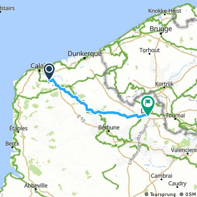 Ardres to Lille