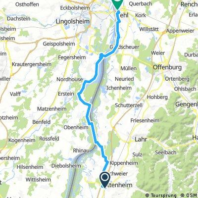 Ortenau-Rhein-Tour Ringsheim-Kehl