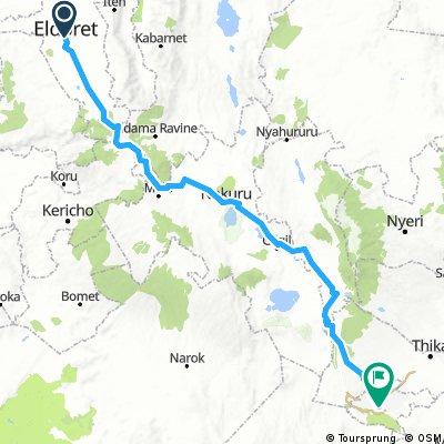 Eldoret - Nairobi