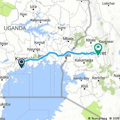 Kampala - Eldoret