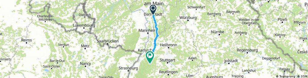 Darmstadt - Bad Wildbad