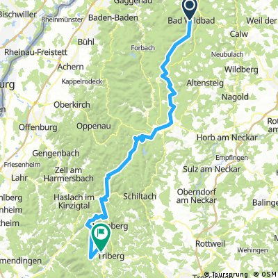 Bad Wildbad - Schonach