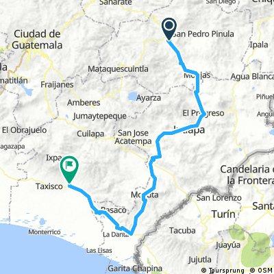 Etapa 6 Jalapa Jutiapa Chiquimulilla