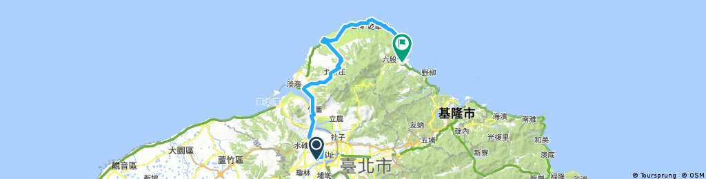 Taiwan north bike ride