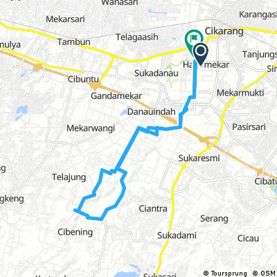 warm up from Harjamekar to Gandasari